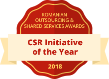 Romanian Outsourcing & Shared Services Awards, 2018 -  CSR Initiative of the Year