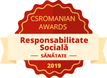 CSRomanian Awards - Mentiune in categoria Responsabilitate Sociala, Sanatate